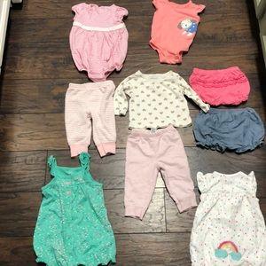 6 month baby girl bundle!